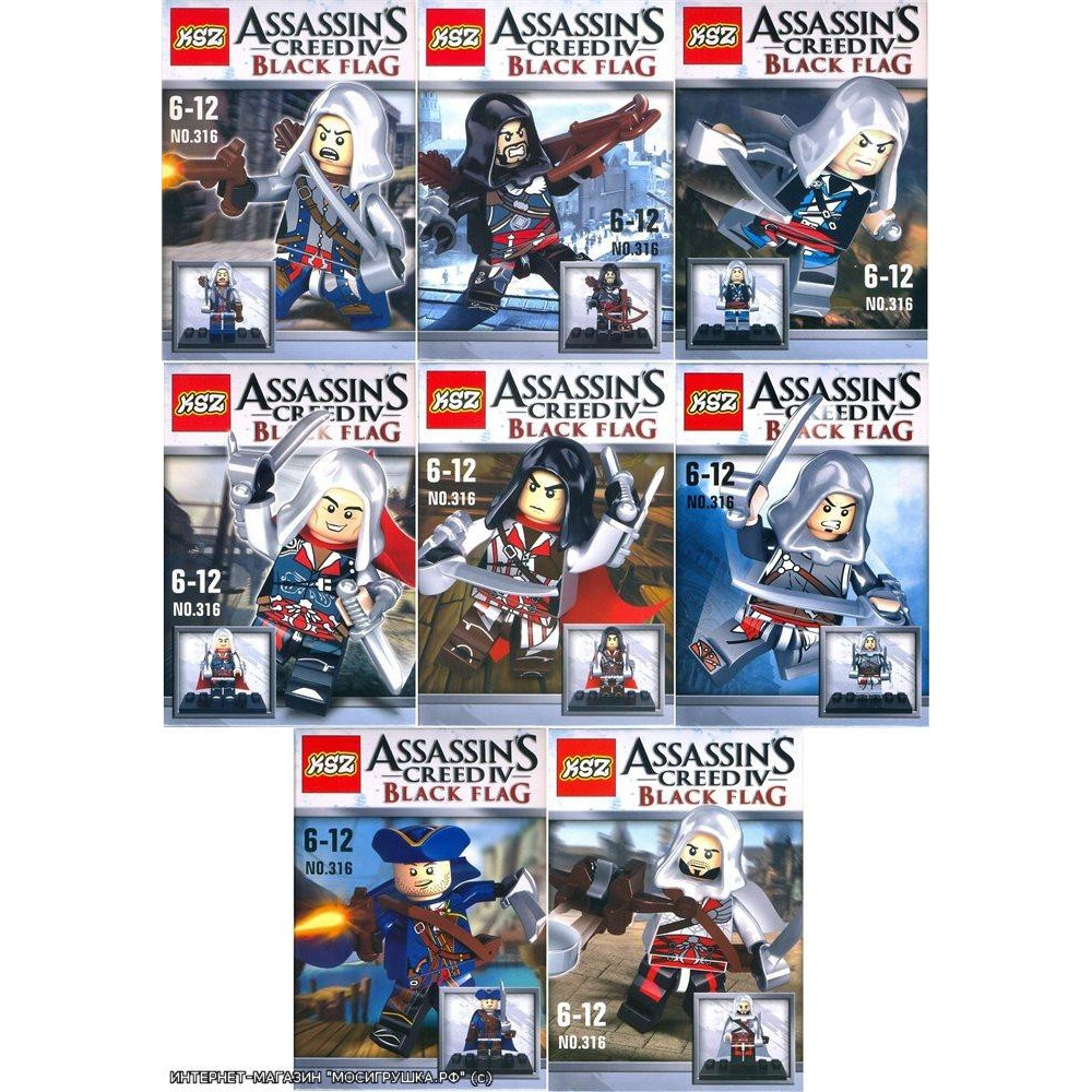 Comaptible Ksz 316 Assassins Creed Minifigure Shopee Malaysia