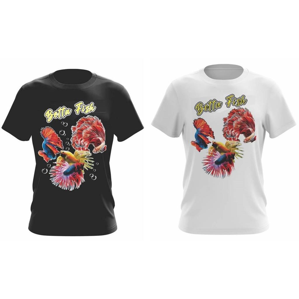 Baju lelaki perempuan Betta tshirt cotton men women unisex
