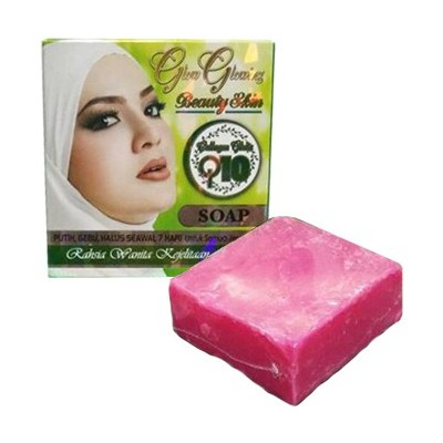 Glow Glowing Beauty Skin Sabun Q10 Soap