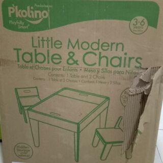 Brilliant Pkolino Little Modern Table Chairs Creativecarmelina Interior Chair Design Creativecarmelinacom