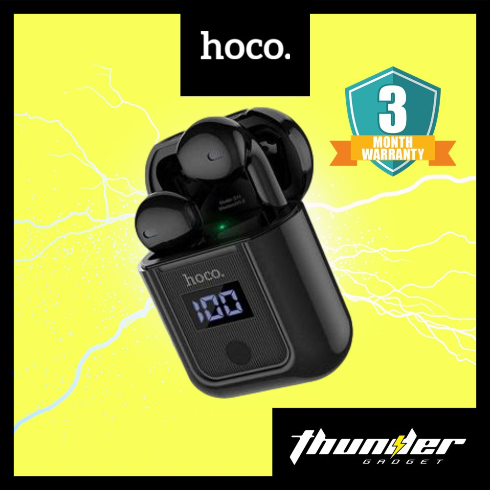 Hoco S11 Melody Wireless Headset Earbuds (BLACK/WHITE)