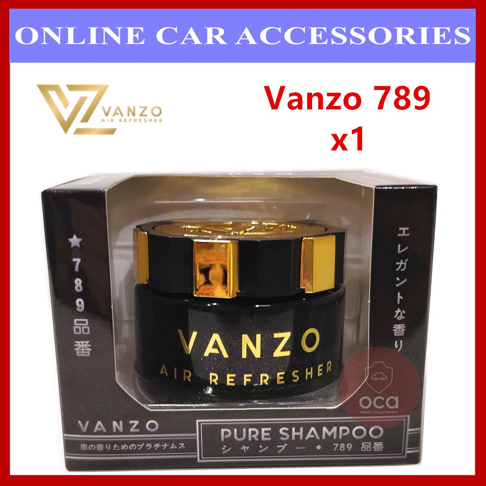 Vanzo 789 Pure Shampoo Gel Car Perfume Air Freshener (65ML)