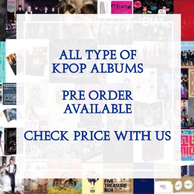 Any Kpop Album Pre Order