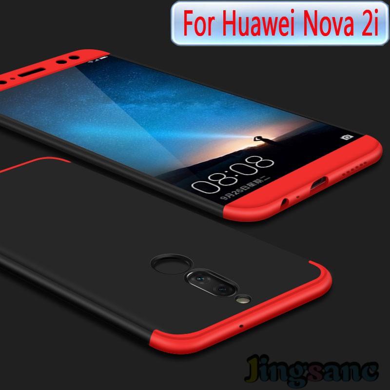 best authentic 09c77 e0733 For Huawei Nova 2i / VIVO v7 plus Case 360 Degree Protection Cover nova2i  casing