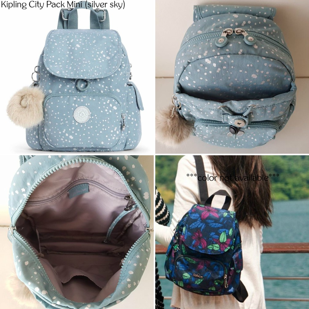 NWT Authentic Kipling City Pack Mini Backpack Bagpack Travel Bag Rucksack    Shopee Malaysia b2d9299197