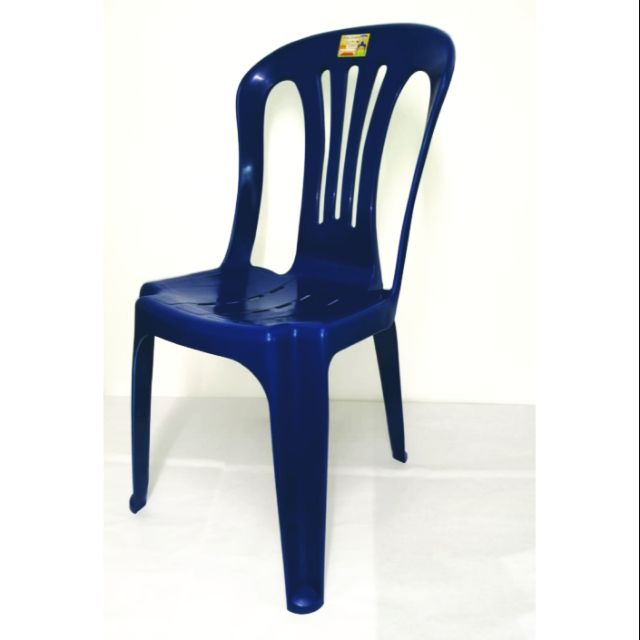 Maxonic Side Chair Blue Colour/ Kerusi Biru