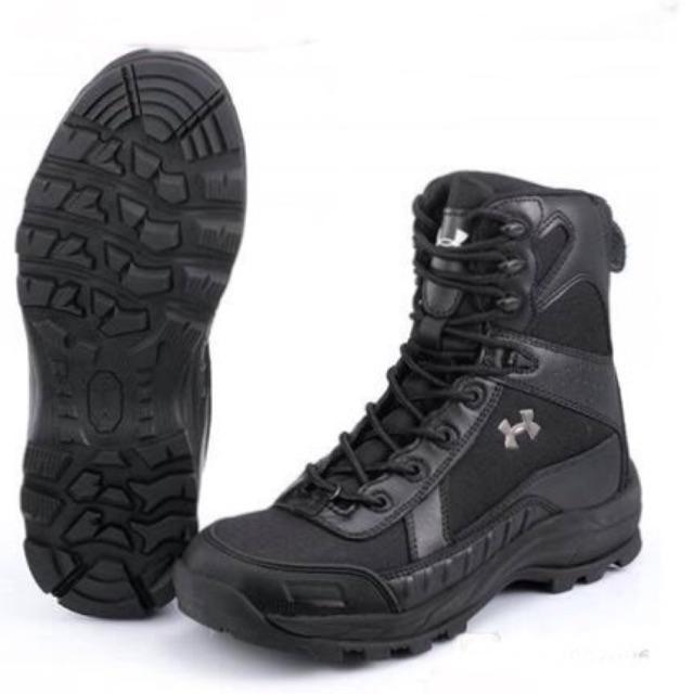 Pantano Activar inversión  Under Armour Tactical Boots   Shopee Malaysia