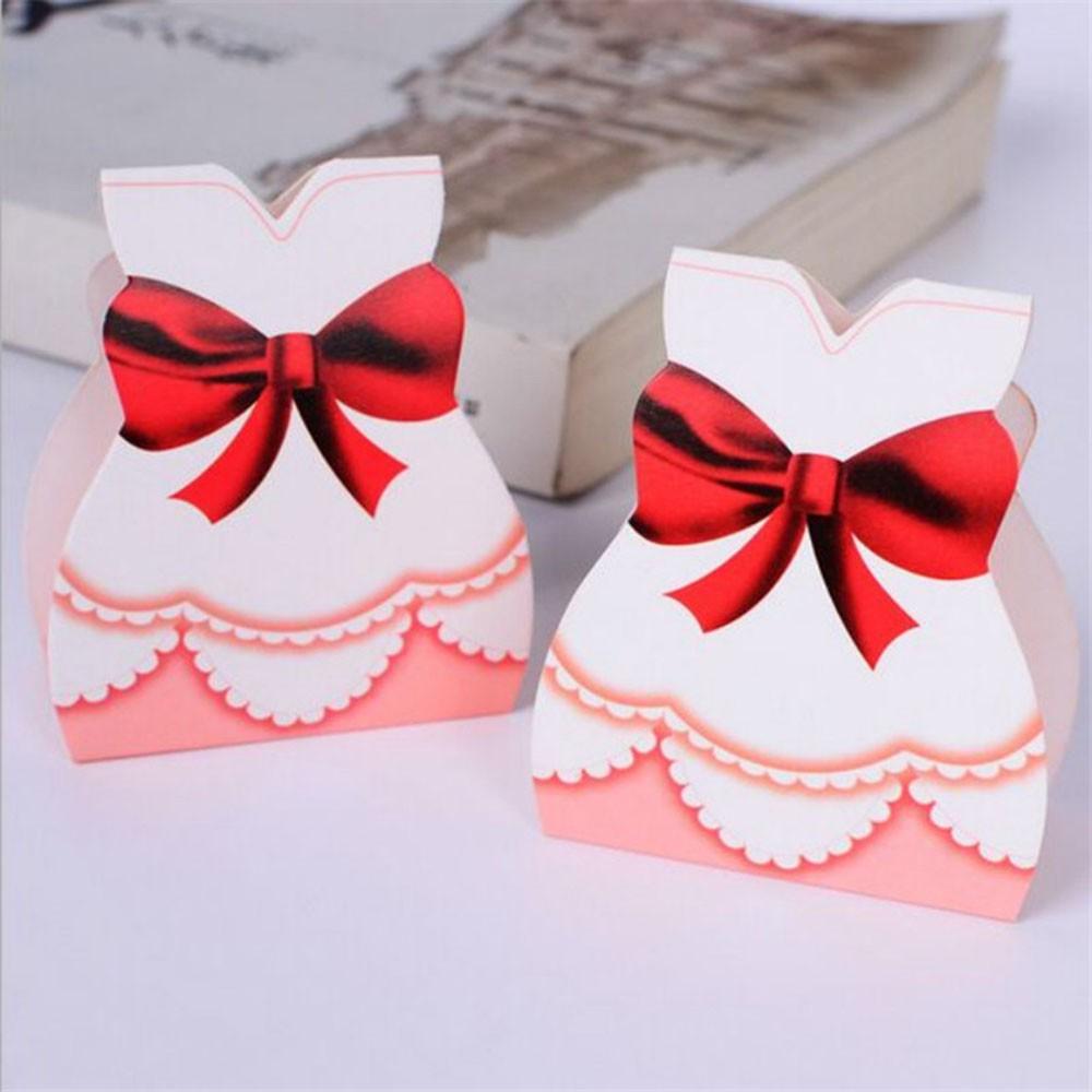 50pcs Bride and 50pcs Groom wedding candy Box Wedding Favor | Shopee ...