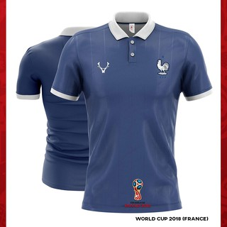 pretty nice 25c9a 30a25 Readystock] FRANCE WORLD CUP 2018 POLO JERSEY | Shopee Malaysia