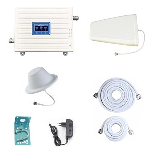 2G/GSM DCS/4G/LTE 4G/LTE Band 8,3,7 Tri Band Mobile Signal Booster Repeater