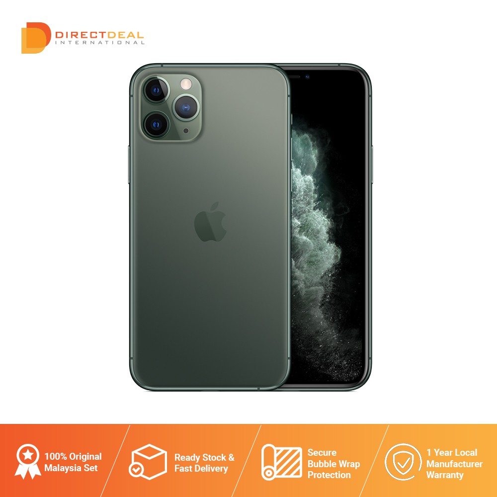 Apple iPhone 11 Pro 64GB - Original Apple Malaysia 1 year Warranty (MY SET) Ready Stock