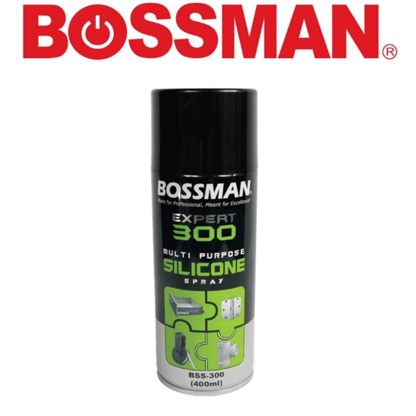 READY STOCK ! !!BOSMAN BSS-300 EXPERT MULTI PURPOSE SILICONE SPRAY 400ML