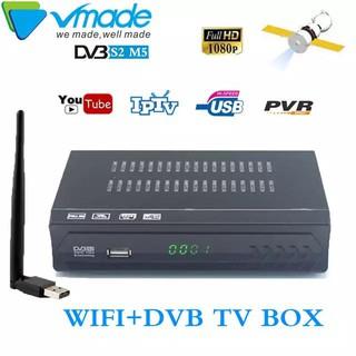 HD DVB S2 M5 Digital satellite TV receiver H 264 Set Top Box YouTube
