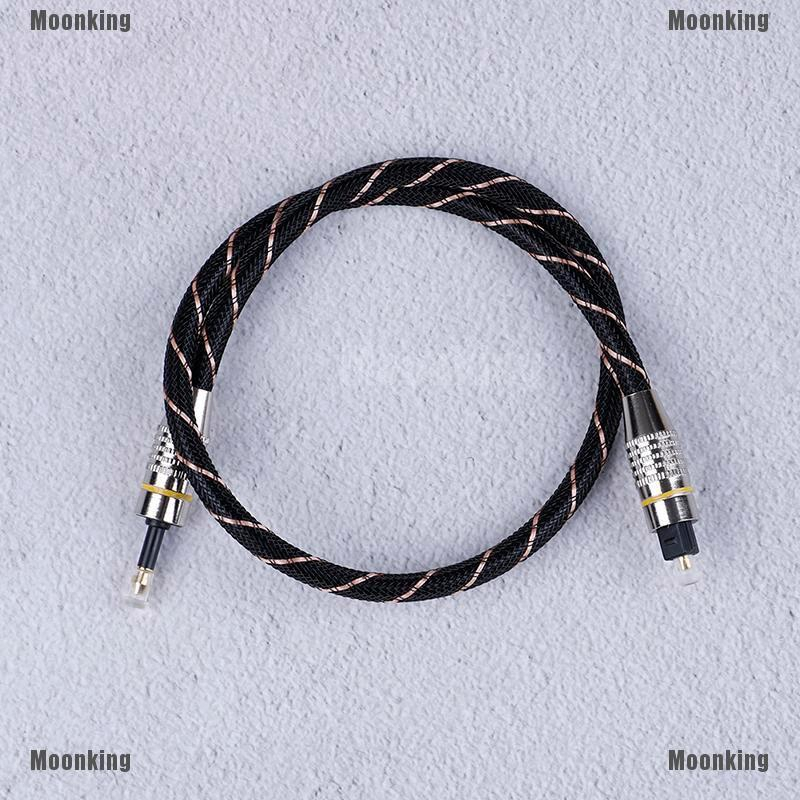 1M Toslink to Mini Plug 3.5mm Digital Optical Audio Cable SPDIF Optic Fiber