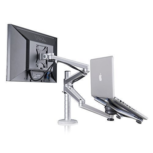 Adjule Aluminium Universal Laptop Notebook Computer Monitor Stand Desk Ee Malaysia