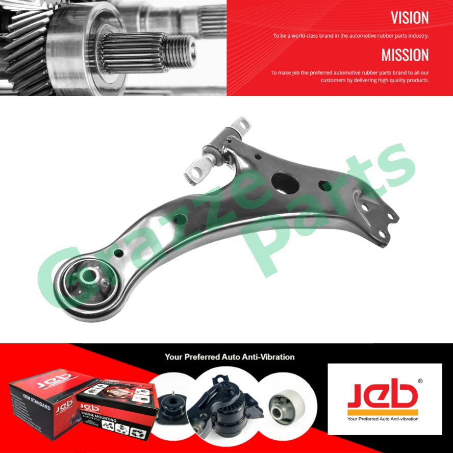JEB RH Front Lower Control Arm 48068-06080 for Toyota Camry ACV30 ACV40