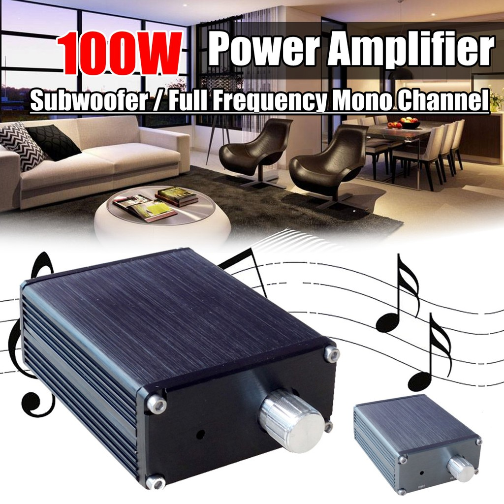 2x100w Douk Audio Subwoofer Full Frequency Mono Channel Mini Power 40w 2 Ohm 24w 4 Ohms Bridge Amplifier Shopee Malaysia