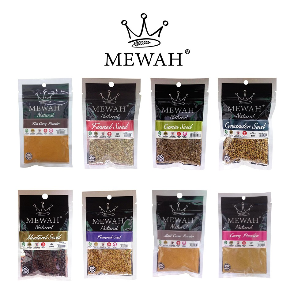 Mewah Indian Curry Spices Set