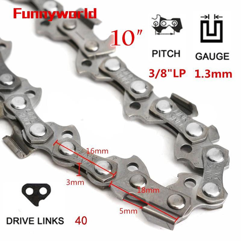 10/'/' Substitution Chainsaw Saw Mill Chain 40 Drive Links 3//8/'/' Pitch 050 Gauge