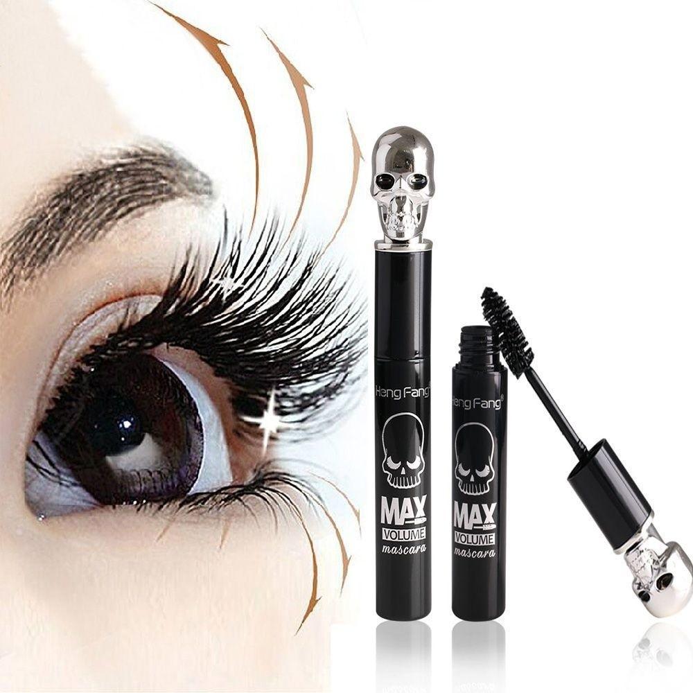 New Professional Makeup Mascara Waterproof Anti-sweat Thick Long Curling Extension Eyelashes Micro 2.5mm Beauty Cosmetic Mascara Mascara Beauty Essentials