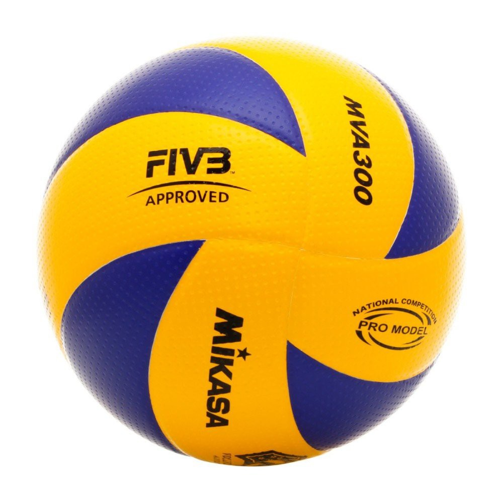 Mikasa MVA 330 Volleyball With A Needle And Carrying Net  12a64e7ff8