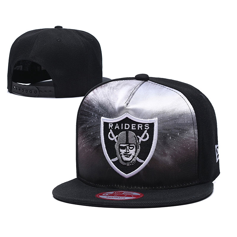 b3a1284b4 Oakland Raiders Fashion Embroidery Hip Hop Cap NFL Brand Custom Hat