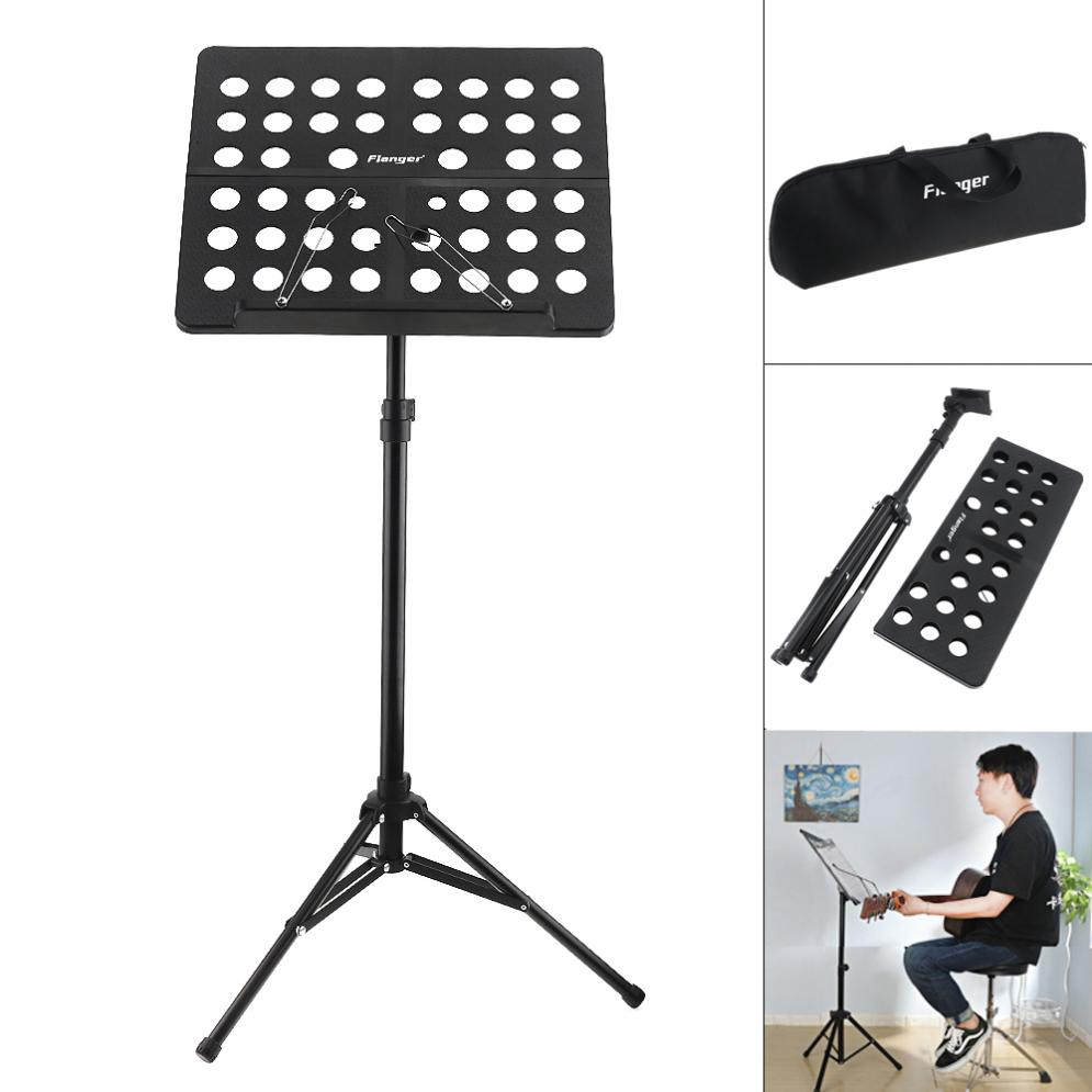 Folding Tabletop Music Stand Abs Sheet Music Holder Applicable For Guitar Piano Violin Universal Musical Instrument Bookends