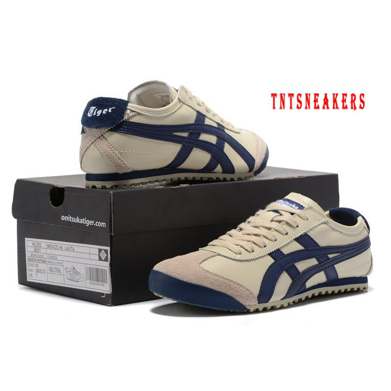 watch a7f79 e1404 New Original Asics Onitsuka Tiger Canvas Leather Low Top Sport Shoes  Sneakers 20