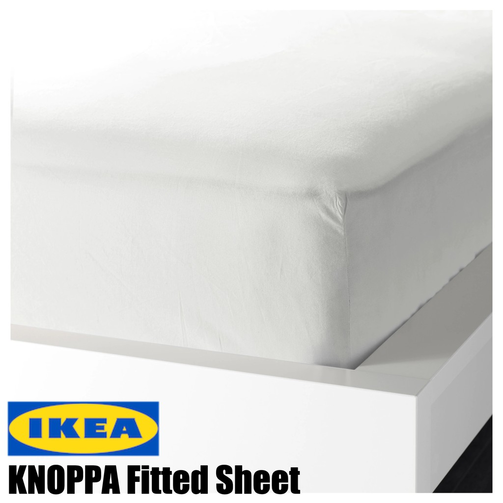 Bedombouw 180x220 Ikea.Ikea Knoppa Fitted Sheet 90 X 200cm Single Bed Sheet