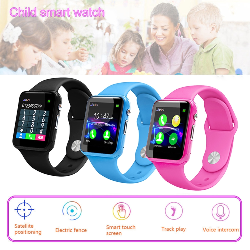 New Y30 Kids Baby Safe Smartwatch Lbs Location Sim Card Daily Waterproof Camera Watch Two Way Talk Cute Bracelet Wristband Moderate Price Children's Watches