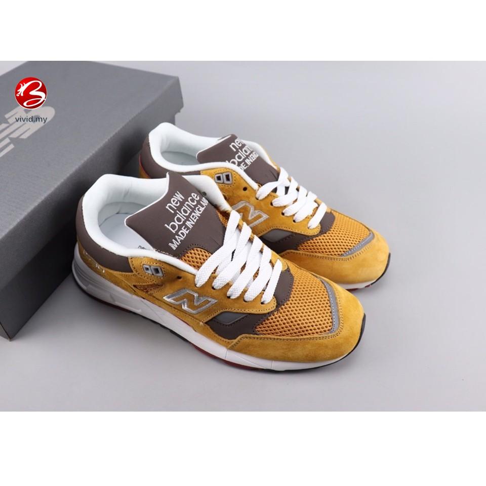 Original Balance M1530 New Balance Vintage Shock Absorbing Running Shoes Brown Shopee Malaysia