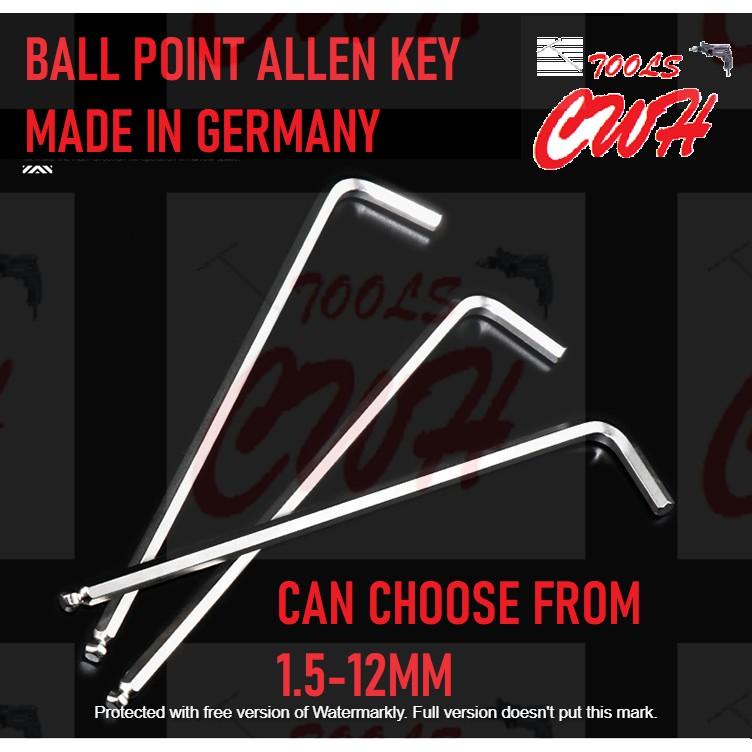 1.5-12MM MADE IN GERMANY MAGIC RING HEX ALLEN KEY BALL POINT SCREW DRIVER HAFU WIHA KING TOYO BONDHUS EMARK WERA STANLEY