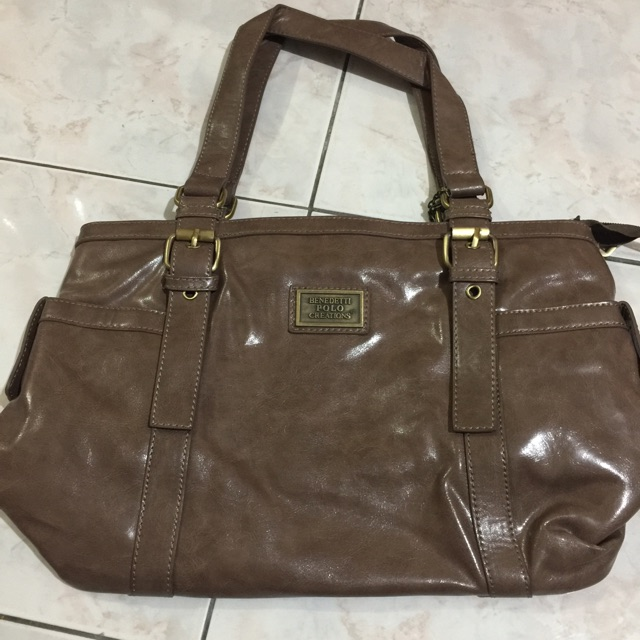 a02850ad499 Preloved benedetti polo creations shoulder bag   Shopee Malaysia