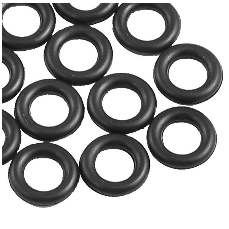 Schwarz 9/MM X 2.0/mm Rubber Dichtscheiben Oil Seal O Rings 12/PCS