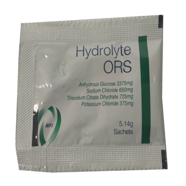 Hydrolyte Ors Oral Rehydration Salts 100s