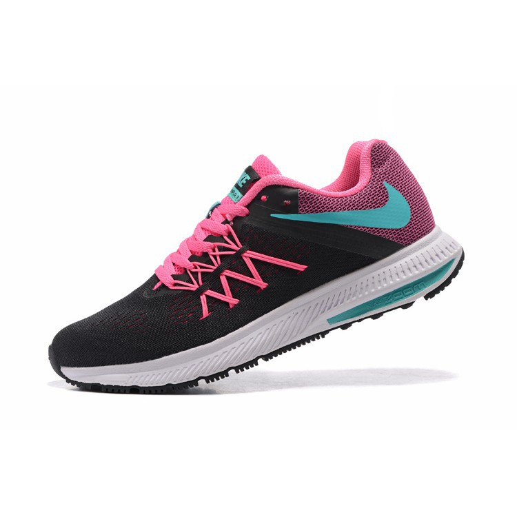 c0e5dd16 ProductImage. ProductImage. Ready Stock Nike Zoom Winflo 3 WMS Shoes  Fashion Shoes Sports Black Pink