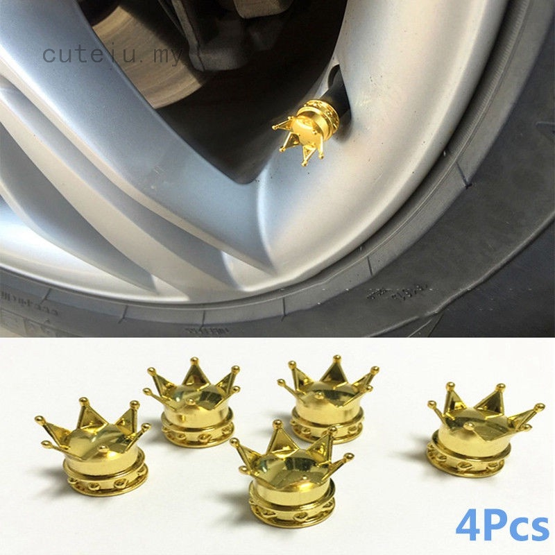2pcs 11.3/ mm Aluminium Alloy Motorcycle Tyre Wheel Valve 90/ Degrees gold