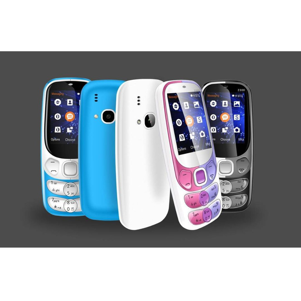 Nokia 230 Dual Sim Import Set Black And Gold Shopee Malaysia 16mb Silver