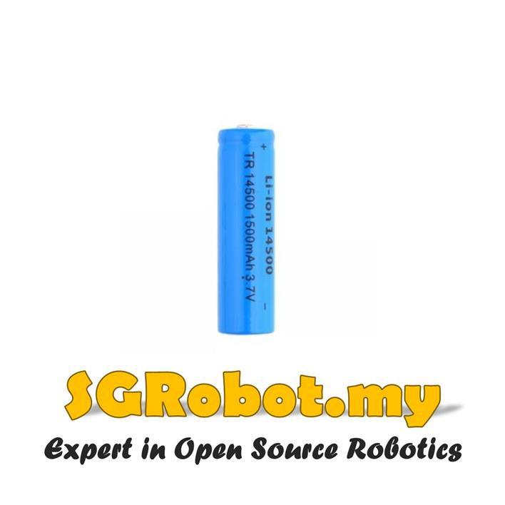 Arduino Rechargeable Li-ion Battery 14500 3.7V 1500mAh