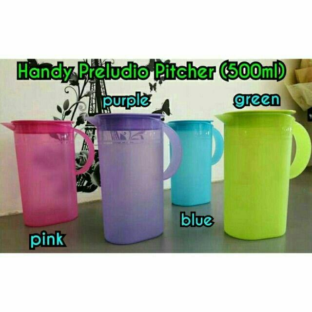 Tupperware Handy Preludio Pitcher 500ml 1pcs
