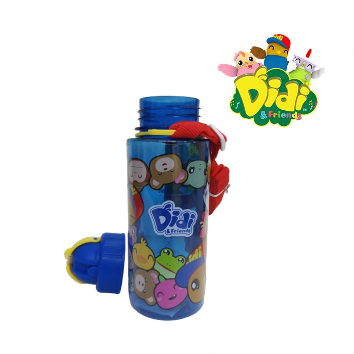 Didi & Friends Tritan Water Bottle with Straw
