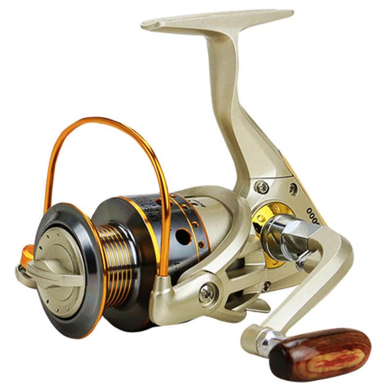 รอกตกปลา JX 1000-7000 Reel 12 BB 5.