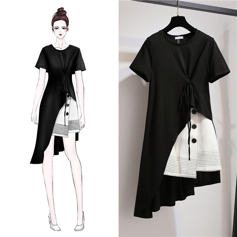 5d511c7999312 ProductImage. ProductImage. 2Pcs Maternity Dress Suits Summer Plus Size Pregnant  Women Pregnancy Clothes