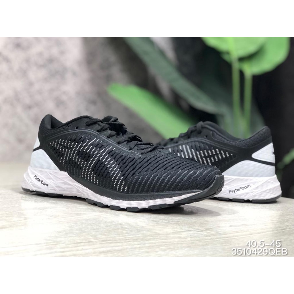 Asics Womens DynaFlyte 2 Running Shoes Trainers Sneakers Black Sports Breathable