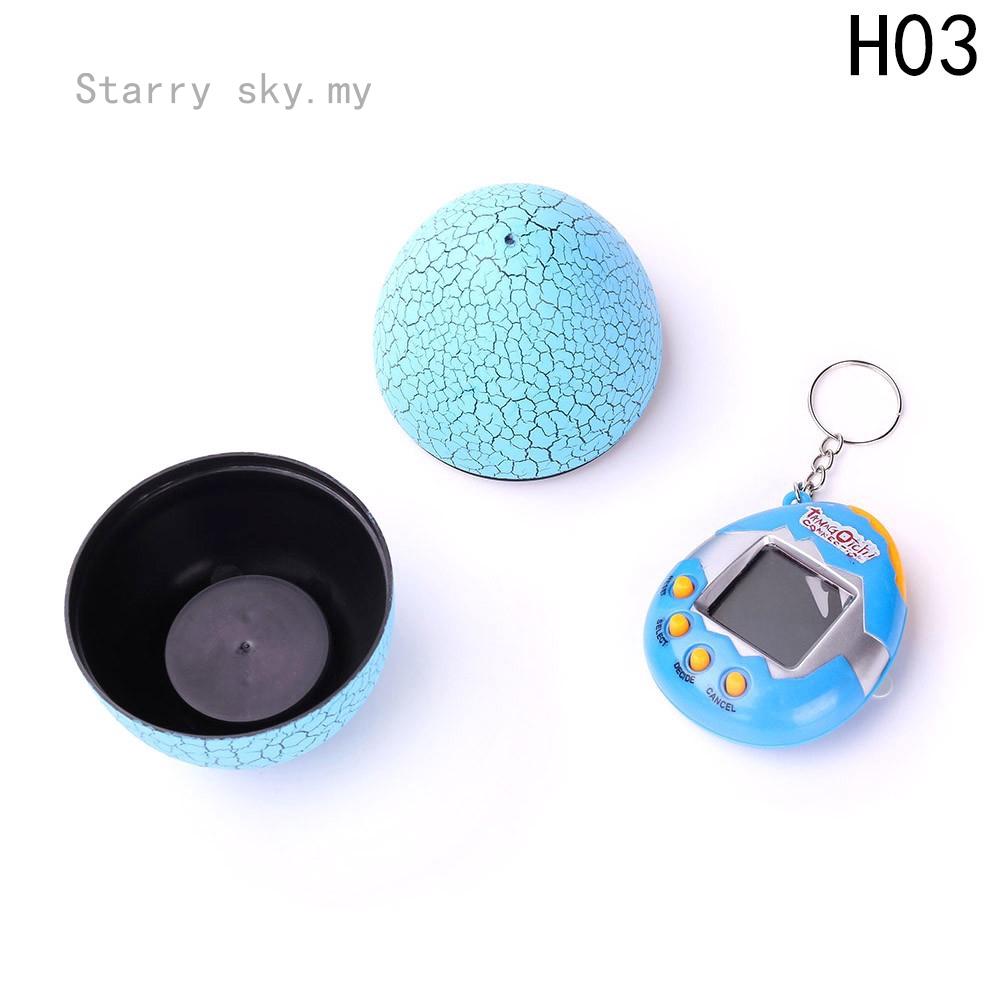 Starry sky Dinosaur Egg Tumbler Virtual Cyber Digital Pets Electronic E-pet  Retro Funny Toy