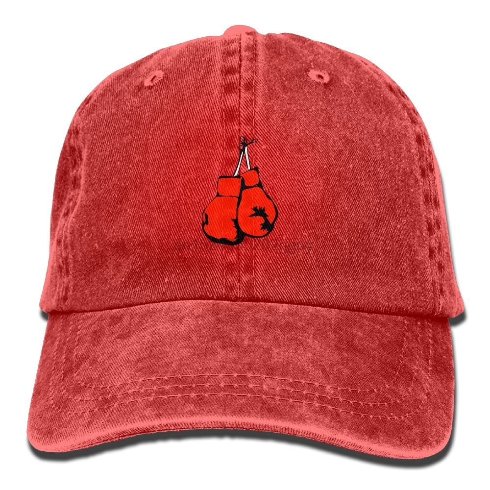 e3ebab4b6 Boxing Gloves Denim Hat Curved Baseball Hats