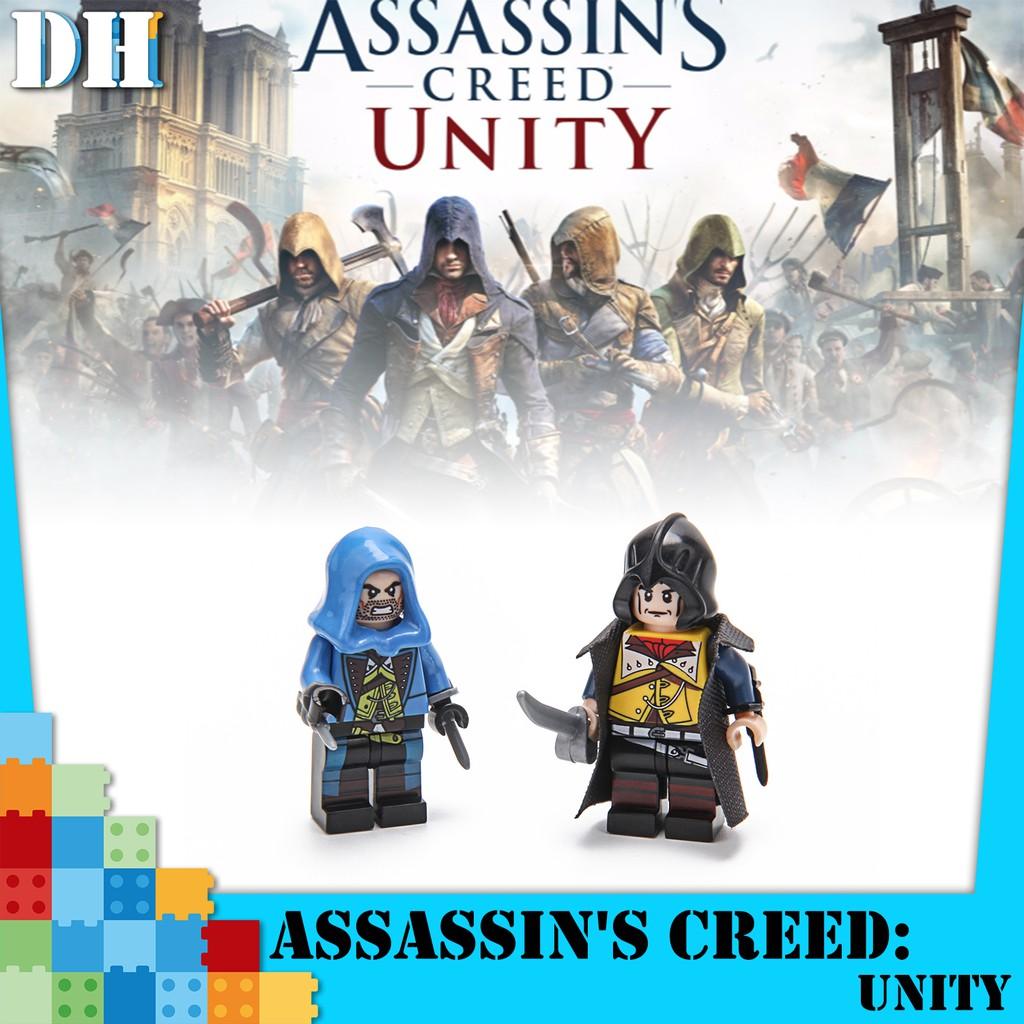 Assassin S Creed Toys Minifig Minifigure Lego Bootleg Building Blocks Shopee Malaysia