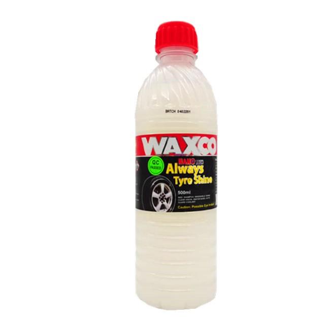 WAXCO Always Tyre Shine Pet Bottle (500ml)