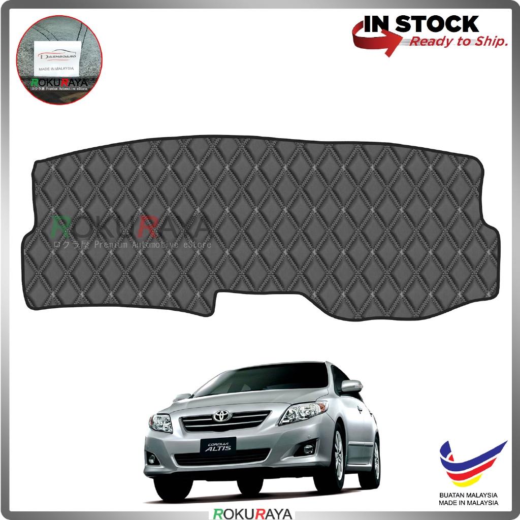 Toyota Corolla Altis E140 (10th Gen) 2008-2013 RR Malaysia Custom Fit Dashboard Cover (BLACK LINE)