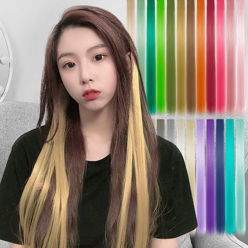 Warna Rambut Palsu Bahagian Rambut Palsu Sehelai Rambut Lurus Semula Jadi Yang Tidak Kelihatan Menonjolkan Kecerunan Rambut Panjang Dan Pendek Wanita Menggantung Telinga Mencelup Dan Menghubungkan Musim Bunga Shopee Malaysia